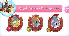 Royal legion's encampment