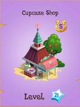 Cupcake Shop Store Locked