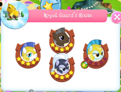 Royal Guard's House residents