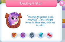 Amethyst Star Album Description