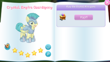 Crystal Empire Guardspony album
