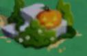 Small halloween canterlot rock