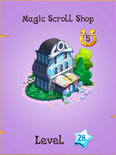 Magic Scroll Shop Store Locked