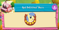 Red Delicious' Barn residents
