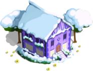 Shining Armor's House Winter-Ponyville