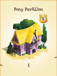 Pony Pavillion Inventory