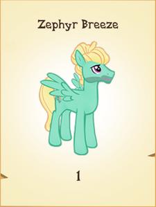 Zephyr Breeze Inventory