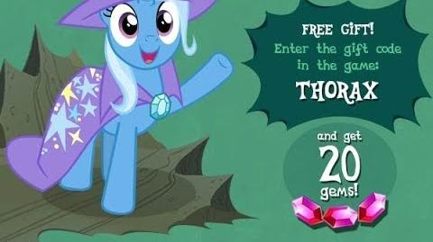 20 FREE GEMS - MAY 2017 - My Little Pony Friendship is Magic - GAMELOFT - 20 Gemas Gratis Mayo