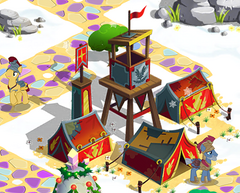 Royal legion's encampment house
