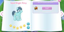 Lead Singer Pony Album