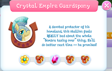 Crystal Empire Guardspony Album Description