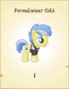 Formalwear Colt inventory