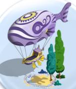 Lavender Spirit Airship