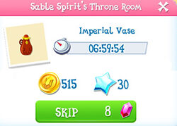 Sable spirit throne room product