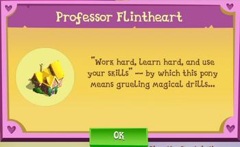 Professor Flintheart Album Description