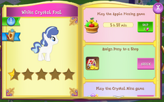 White Crystal Foal album