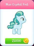 Blue Crystal Foal store unlocked