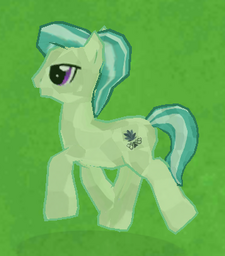 Green Crystal Pony image