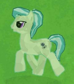 Green Crystal Pony image