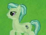Green Crystal Pony