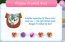 Chiffon Crystal Foal album description