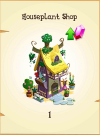 Houseplant Shop Inventory