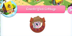 Countrified cottage resident