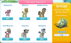 Daring Do Superfans