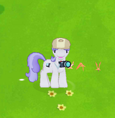 Reporter Pony Character Image