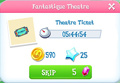Fantastique theatre product