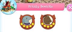 Prickly domicile residence