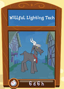 Willful lighting techR06
