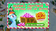 Hearth's Warming Eve 1.1 gem sale promo