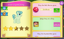 Green Crystal Pony album