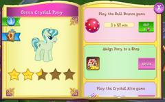 Green Crystal Pony album