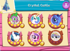 Crystal Castle six