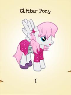 Glitter Pony Inventory