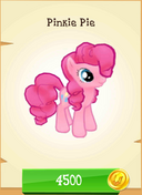 Pinkie Pie store unlocked