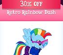 Retro Rainbow Dash