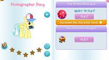 Photographer pony album