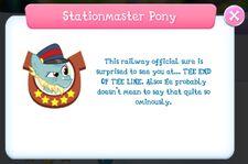 Stationmaster Pony Album Description