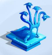Hydra statue