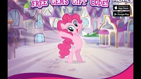 20 FREE GEMS - SEPTEMBER 2017 - My Little Pony Friendship is Magic - GAMELOFT - 20 Gemas Septiembre