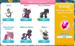 Mighty Malefactors