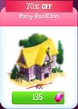 Pony pavillion discounted