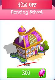 Dancing school store