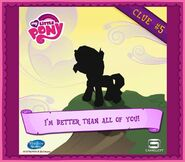 Sunset Shimmer clue 5