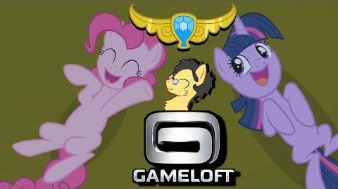 Activando el ELEMENTO de la ARMONÍA de RISA My Little Pony Friendship is Magic Gameloft Mini Juego
