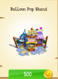 Balloon Pop Stand Store Unlocked