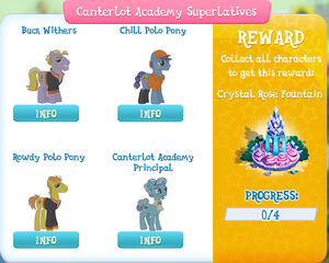Canterlot Academy Superlatives